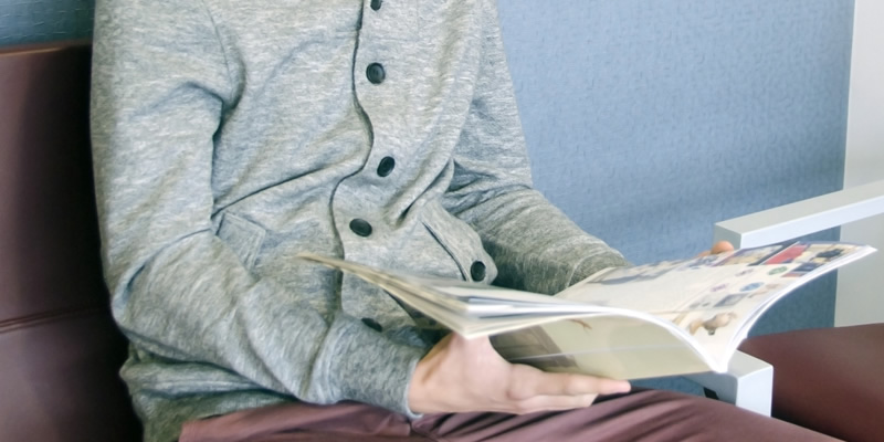 掲載日を指定できる雑誌にお店の情報を掲載する